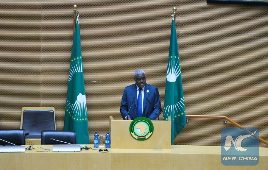 AU Commission chief condemns failed coup attempt in Gabon