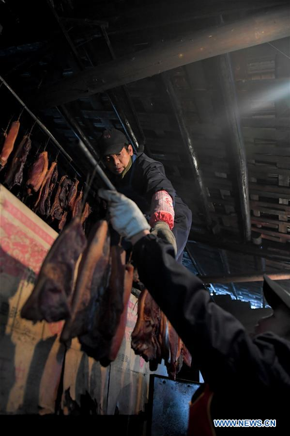 CHINA-HUNAN-PRESERVED MEAT (CN)