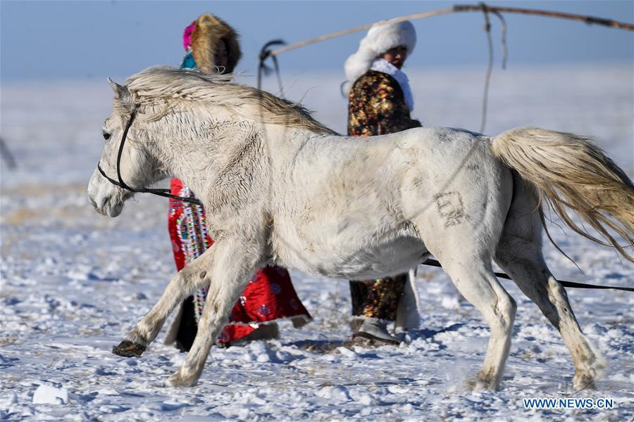 CHINA-INNER MONGOLIA-LASSOING (CN)