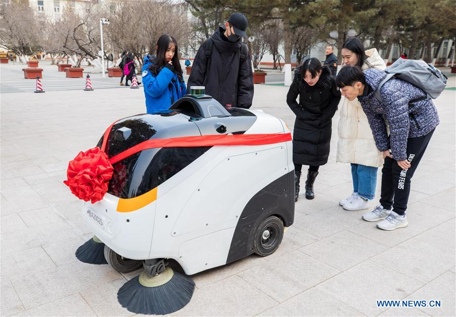 #CHINA-INNER MONGOLIA-HOHHOT-PILOTLESS SWEEPER CAR (CN)