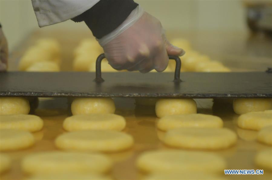 #CHINA-HUBEI-ENSHI-SPRING FESTIVAL-GLUTINOUS RICE CAKE (CN)