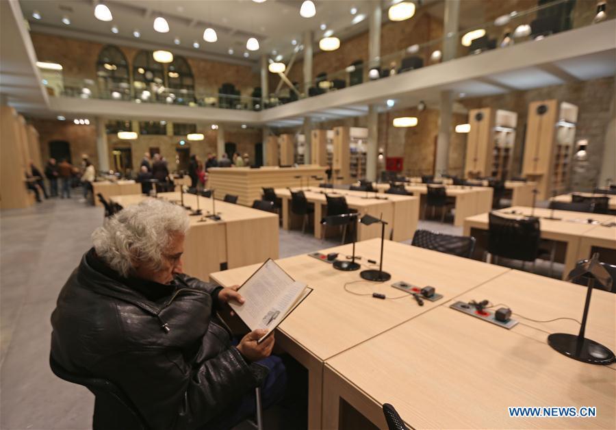 黎巴嫩 - 贝鲁特 - 国家图书馆重建