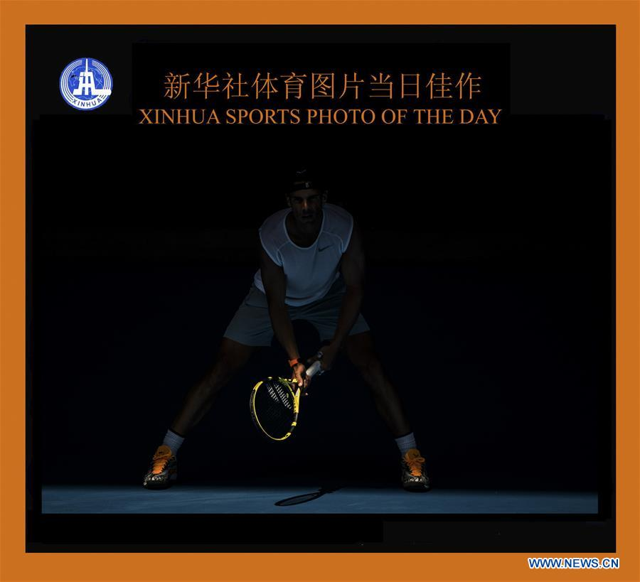 (SP)XINHUA SPORTS PHOTO OF DAY