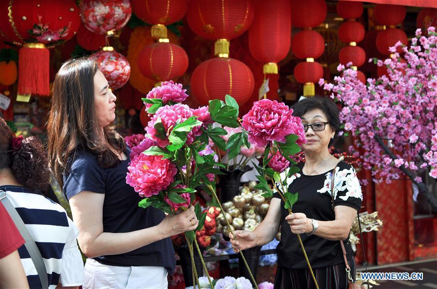 MALAYSIA-KUALA LUMPUR-CHINESE NEW YEAR-LABA FESTIVAL