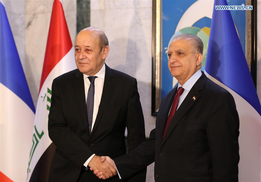 French Fm Visits Iraq To Discuss Bilateral Ties Cooperation