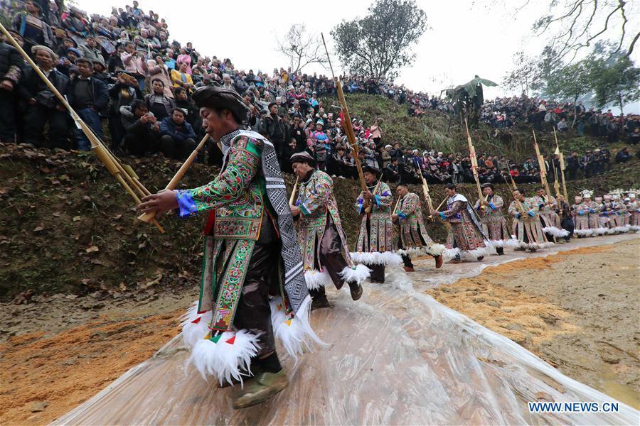 #CHINA-GUIZHOU-MIAO PEOPLE-GUZANG FESTIVAL(CN)
