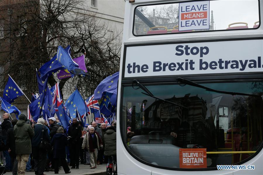 BRITAIN-LONDON-BREXIT-PROTEST