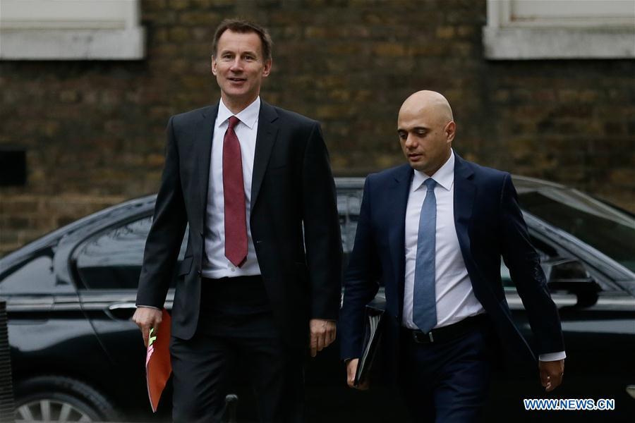 BRITAIN-LONDON-CABINET MEETING