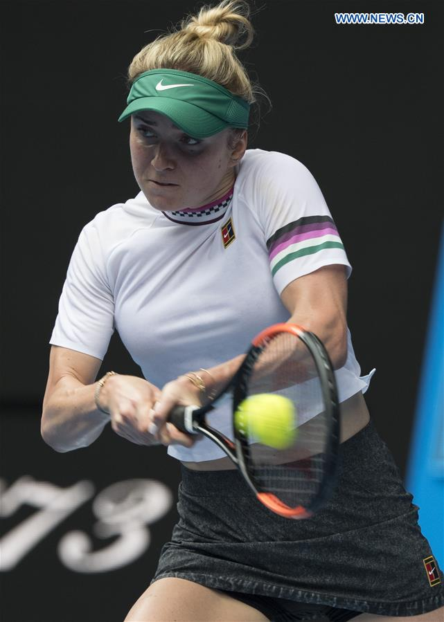 (SP)AUSTRALIA-MELBOURNE-TENNIS-2019澳大利亚开放日4