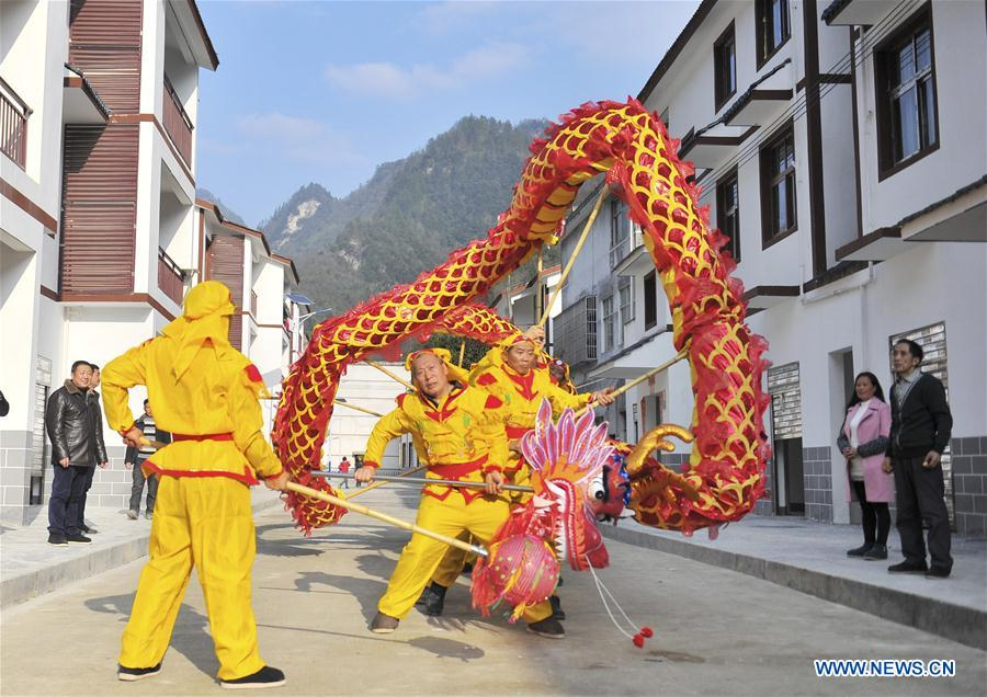 #CHINA-HUBEI-SPRING FESTIVAL-NEW HOUSE (CN)