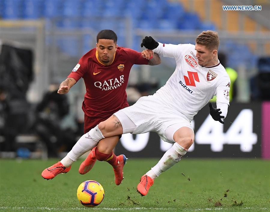 Serie A soccer match: AS Roma beats Torino 3-2 - Xinhua | English