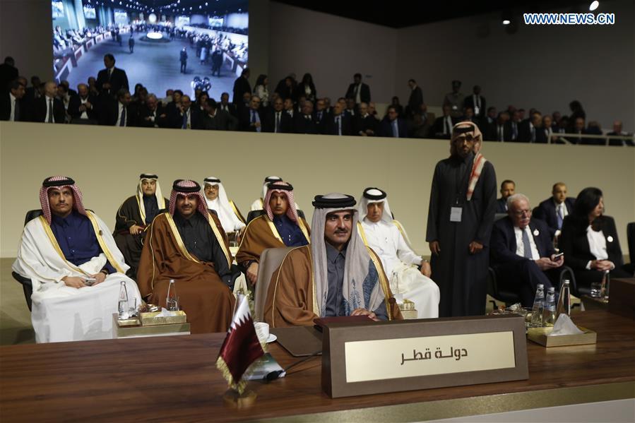 黎巴嫩 - 贝鲁特 - 阿拉伯经济峰会开幕
