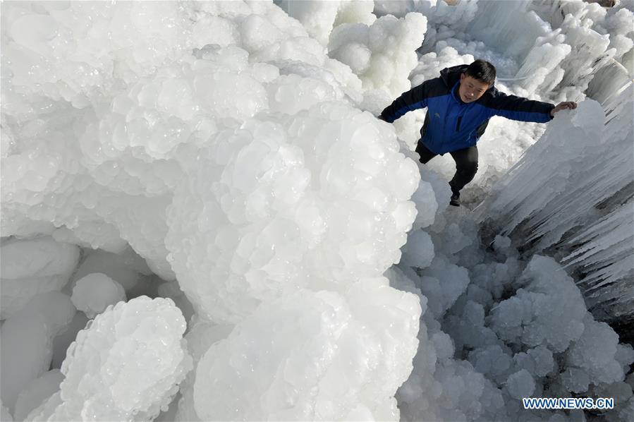 CHINA-HEBEI-SHAHE-ICEFALL (CN)