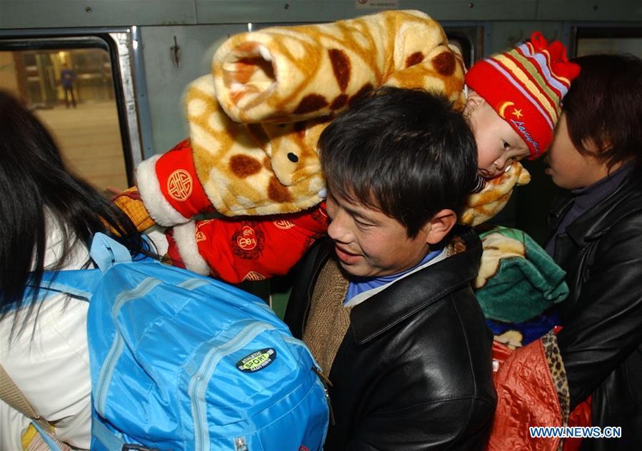 CHINA-SPRING FESTIVAL-TRAVEL RUSH (CN)