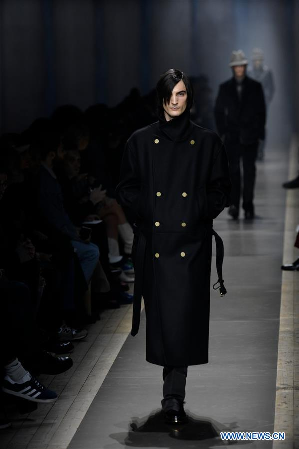 Mens Winter Fashion 2020.Dunhill Fall Winter 2019 2020 Collection Displayed During
