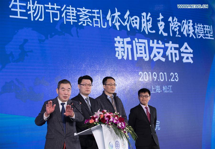CHINA-SHANGHAI-GENE-EDITED MONKEYS (CN)