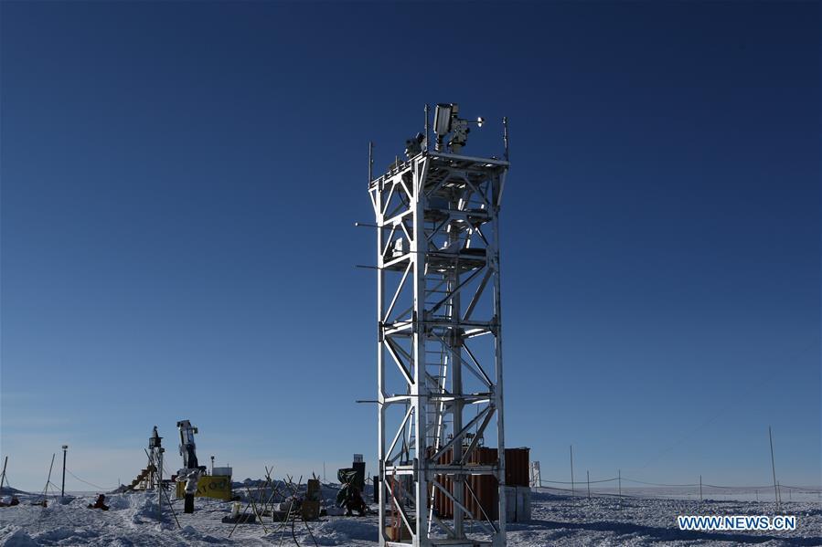 南极洲 - 中国远征出发