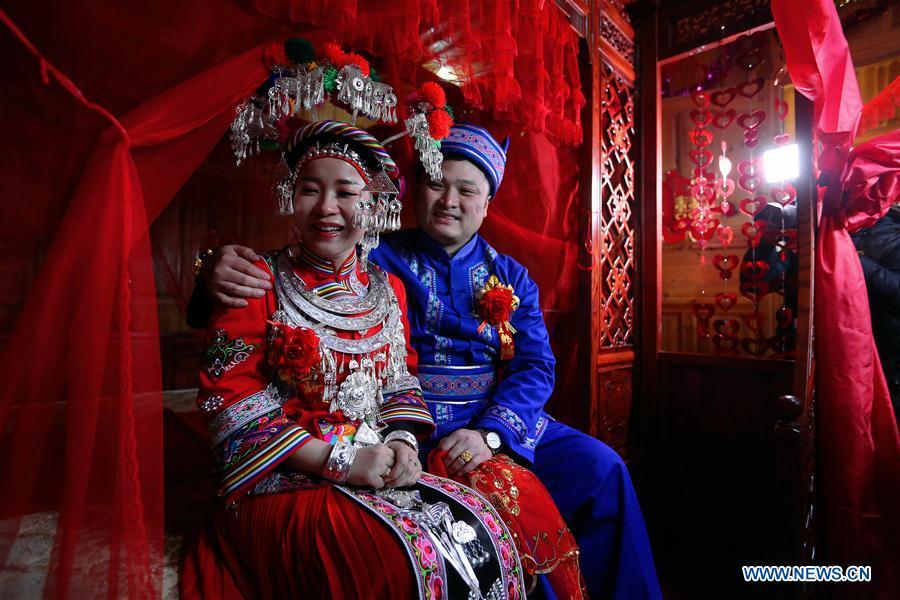 #CHINA-HUNAN-MIAO ETHNIC GROUP-WEDDING (CN)