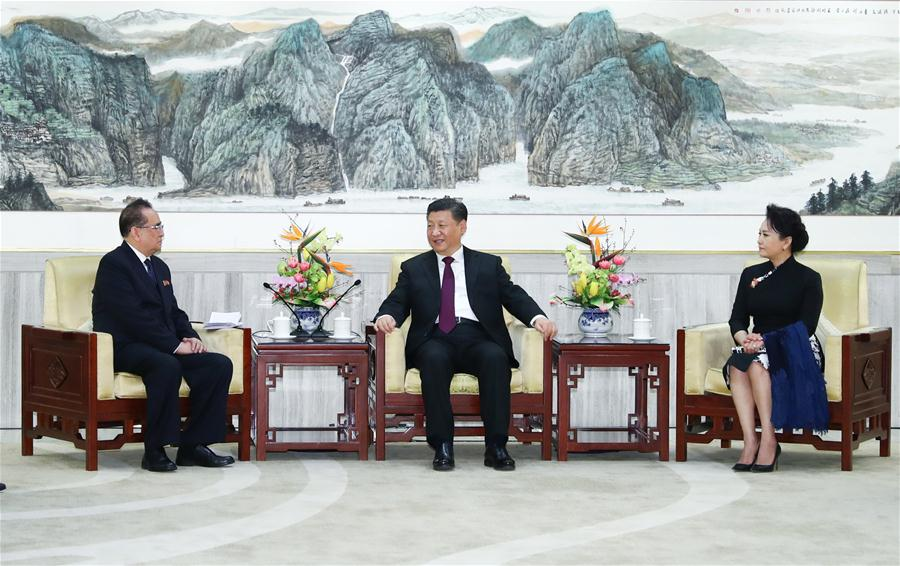 CHINA-BEIJING-XI JINPING-DPRK-ART TROUPE(CN)