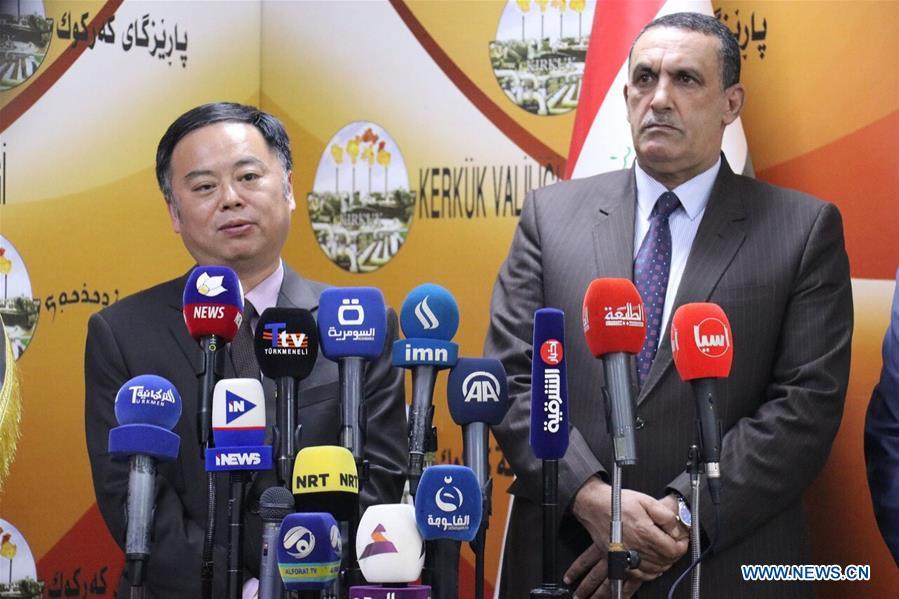 IRAQ-KIRKUK-CHINESE AMBASSADOR-VISIT