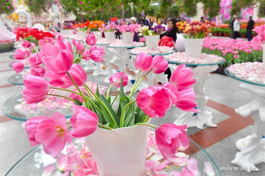 CHINA-GUANGDONG-EXHIBITION-TULIPS (CN)