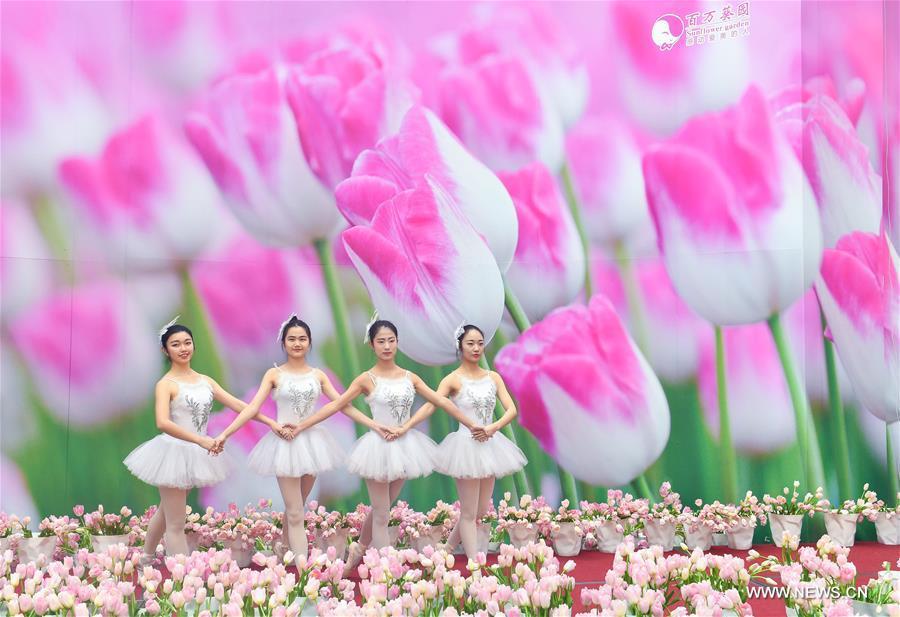 CHINA-GUANGDONG-EXHIBITION-TULIPS (CN)