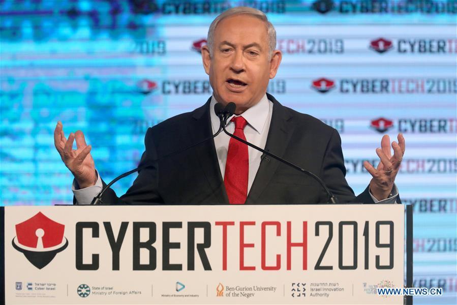 以色列 - 电话AVIV-CYBERTECH TLV 2019-PM-NETANYAHU