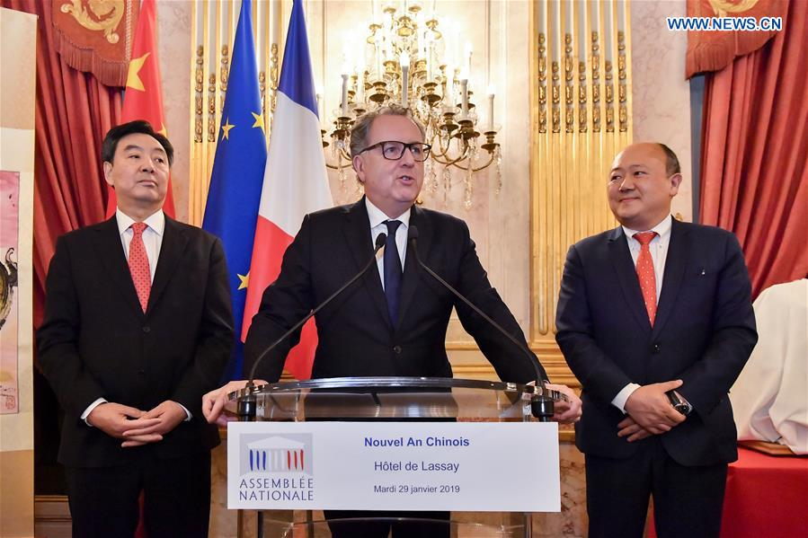 法国 - 巴黎 - 重新接受法院接待