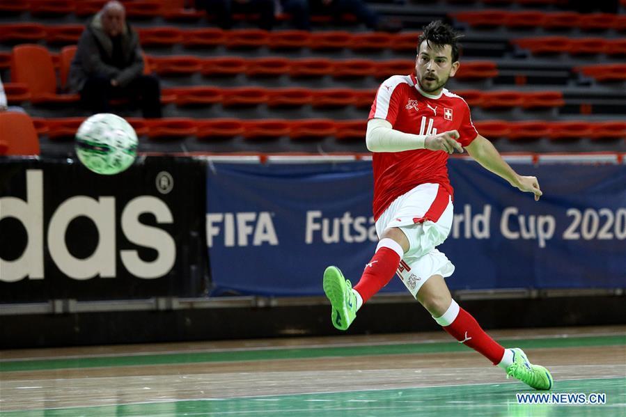 (SP)BOSNIA和HERZEGOVINA-ZENICA-GROUP F-FIFA FUTSAL WORLD CHAMPIONSHIP