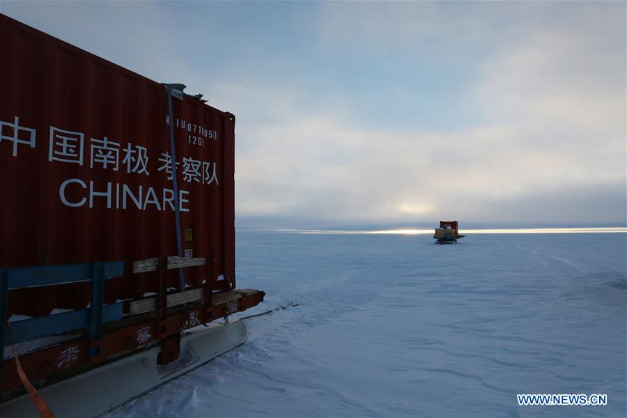ANTARCTICA-CHINA-EXPEDITION