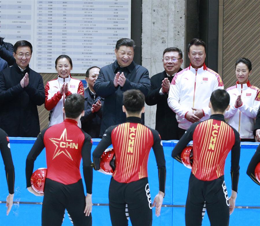 CHINA-BEIJING-XI JINPING-LUNAR NEW YEAR-VISIT (CN)