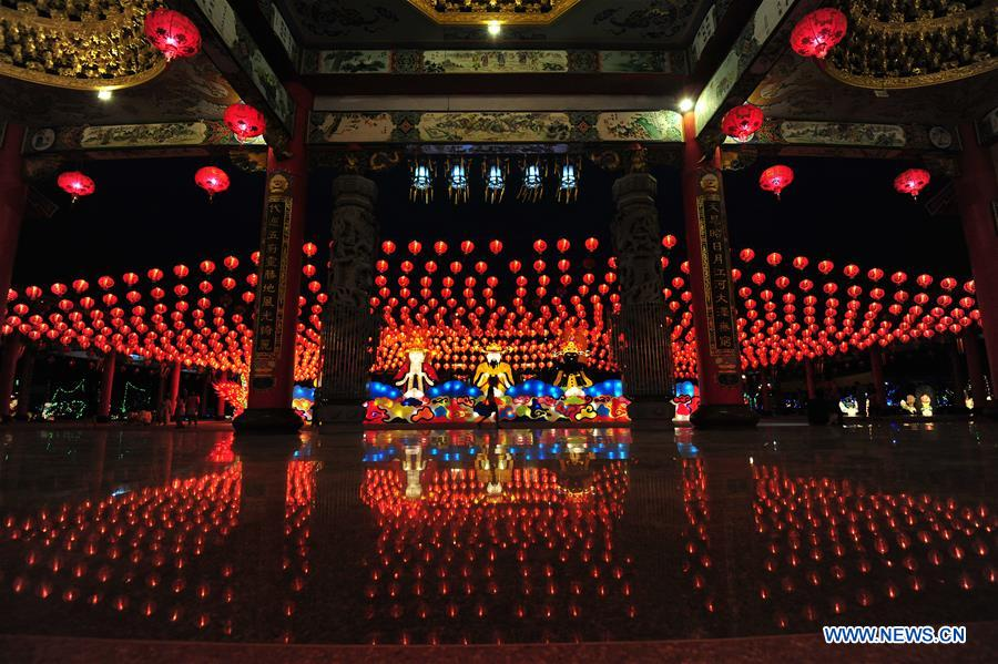 THAILAND-BANGKOK-LANTERN SHOW-SPRING FESTIVAL