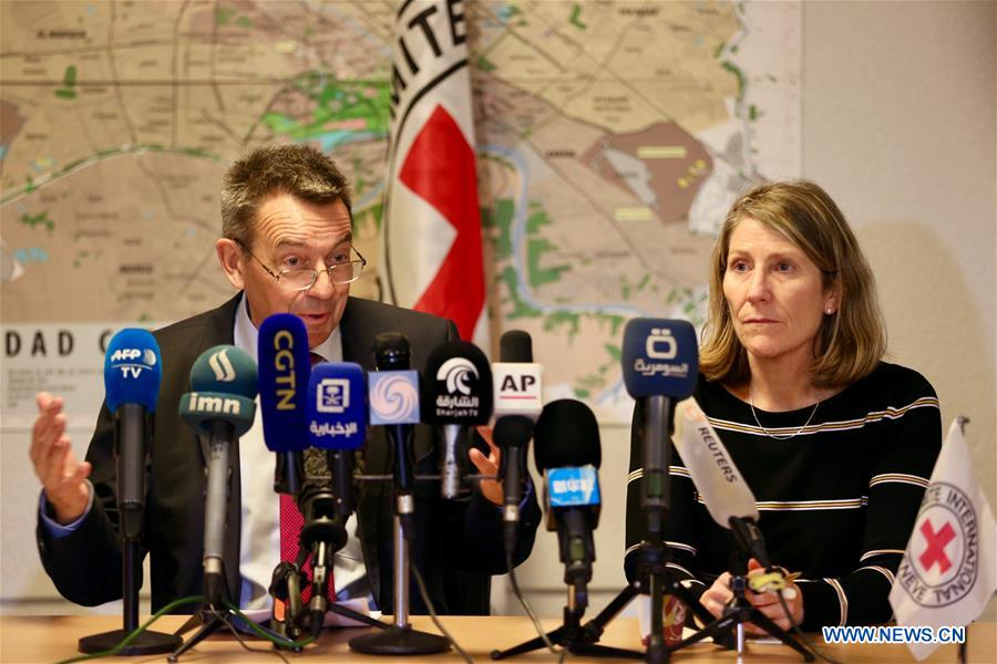 Iraq Still Faces Mive Humanitarian Challenges Icrc President