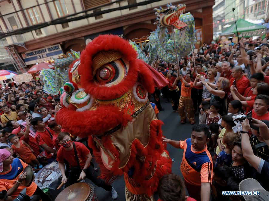 PHILIPPINES-MANILA-CHINESE NEW YEAR-CELEBRATION