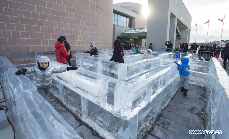 CANADA-MARKHAM-ICE和SNOW FESTIVAL