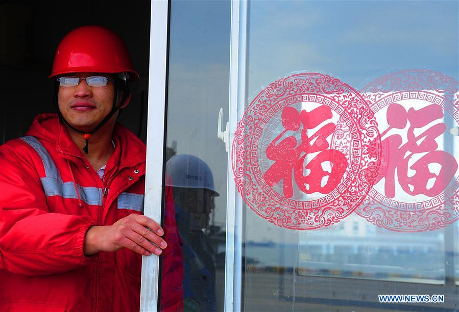 #CHINA-JIANGSU-SPRING FESTIVAL-HOLIDAY END-WORK (CN)