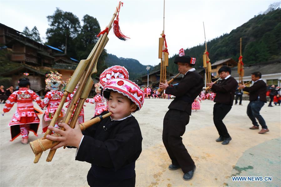 中国 - 贵州 - 黔东南 - 鲁生 - 庆祝活动(CN)