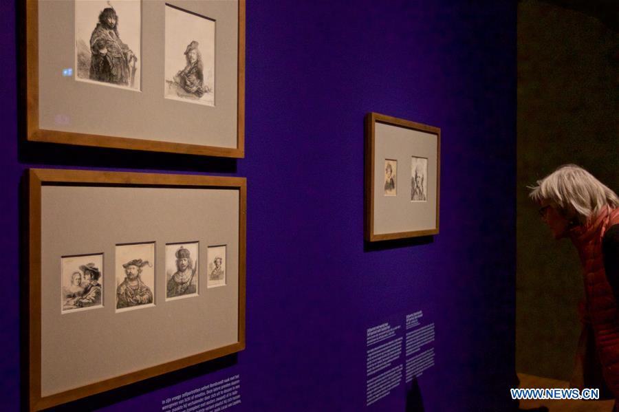 Rembrandt's works exhibited in Amsterdam, Netherlands - Xinhua