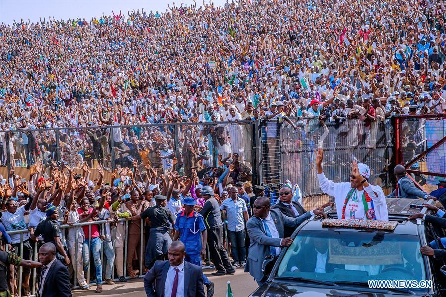 NIGERIA-KATSINA-PRESIDENTIAL ELECTION-BUHARI-CAMPAIGN