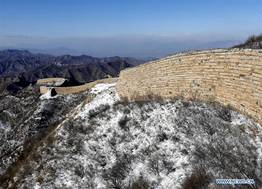 #CHINA-Hebei-GREAT WALL-SNOW SCENERY(CN)