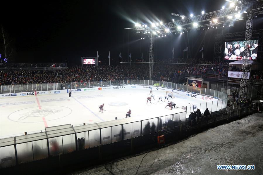(SP)LATVIA-RIGA-ICE HOCKEY-KHL-DINAMO RIGA VS DINAMO MINSK