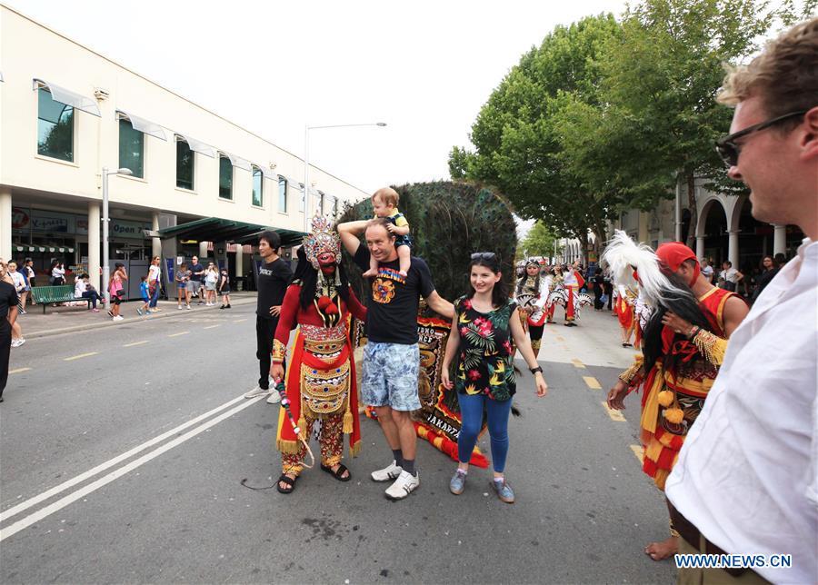 第23届全国多元文化节在澳大利亚堪培拉举行