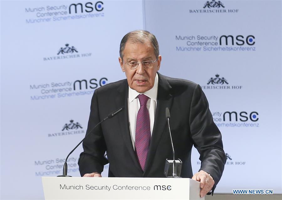 俄罗斯FM在德国第55届慕尼黑安全会议上发