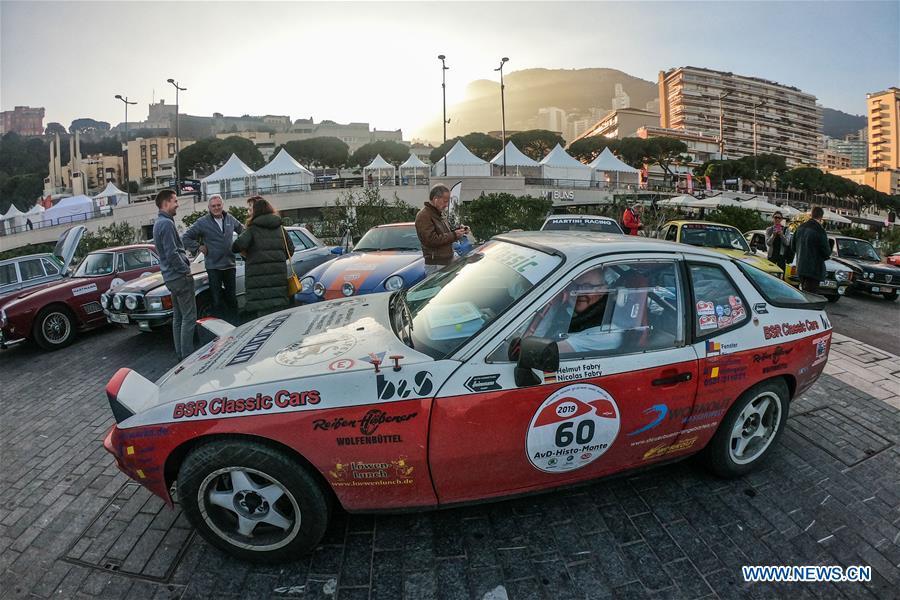MONACO-VINTAGE RACE CARS-SHOW