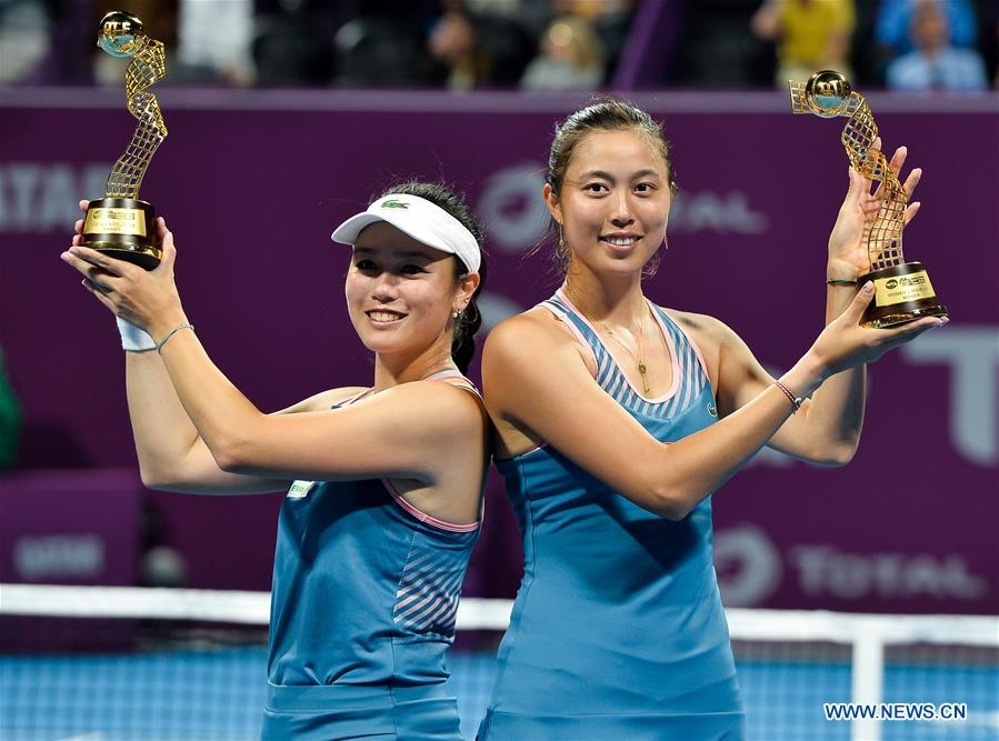 (SP)QATAR-DOHA-TENNIS-2019 WTA QATAR OPEN