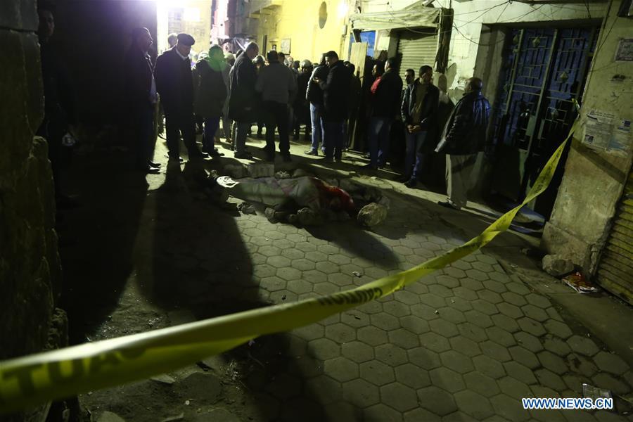 埃及 - 开罗 - 炸弹爆炸