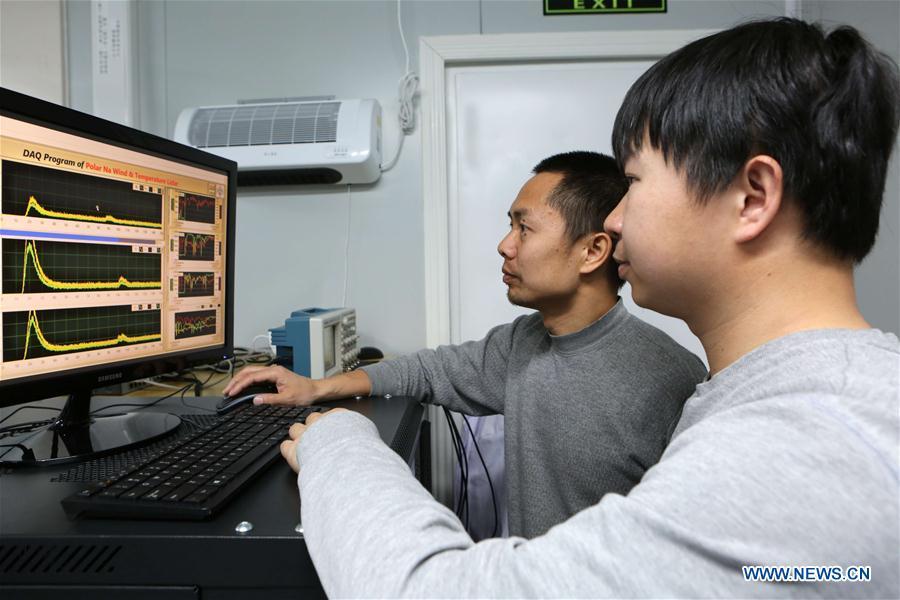 ANTARCTICA-CHINA-ZHONGSHAN STATION-NEW RADAR SYSTEM-INSTALLATION