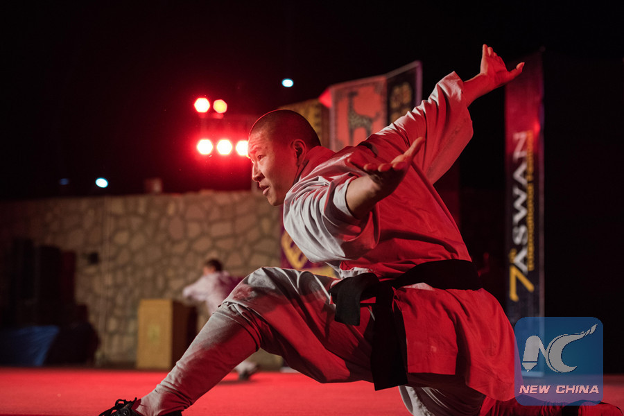Feature: Chinese Shaolin Kung Fu group amazes audience at