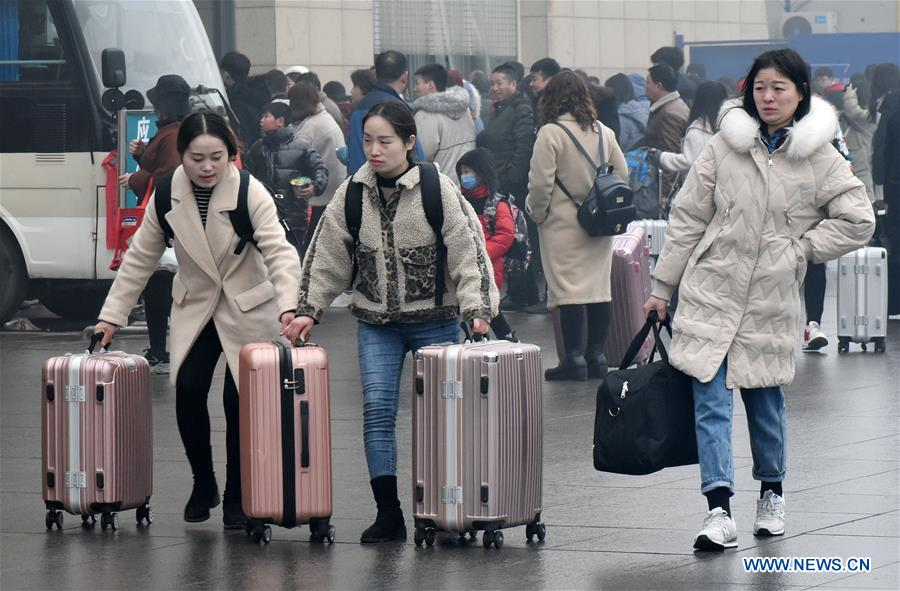 #CHINA-POST-HOLIDAY TRAVEL PEAK (CN)
