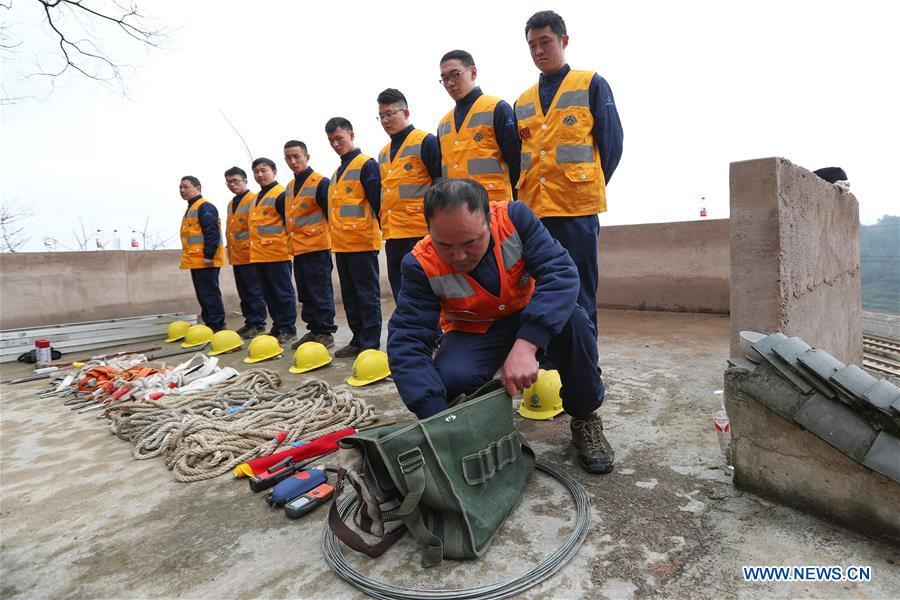 CHINA-GUIZHOU-GUIYANG-RAILWAY MAINTENANCE WORKER (CN)